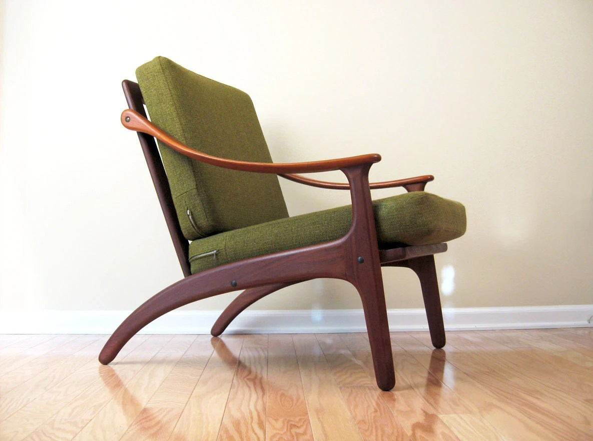 scandinavian design chair covers high chairs suitable from 3 months danish modern teak lounge by komfort objectofbeauty