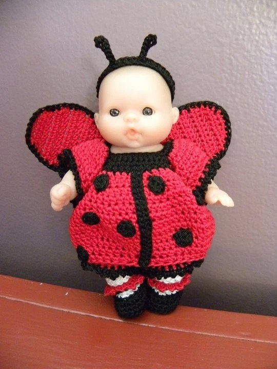 Crochet 5 Inch Baby Doll Clothes Patterns