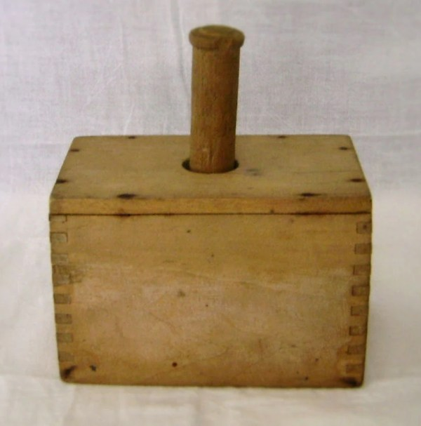 Antique Wooden Butter Mold