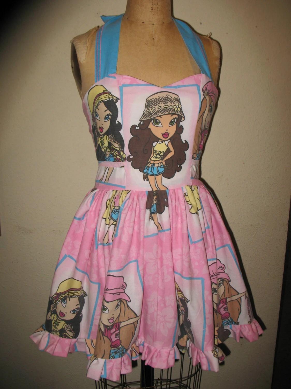 Bratz SweetHeart Ruffled Mini Dress