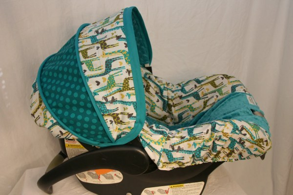 Car Seat Cover Giraffe Custom Infant Babycovers2010