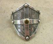 cyber shield ponytail holder