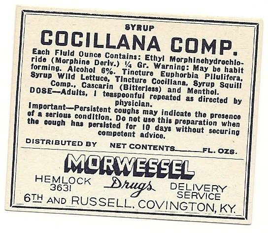 Cocillana Syrup Compound Morphine Pharmacy by thecollectiblechest