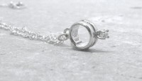 Promise Ring Necklace Sterling Silver Jewelry by ...