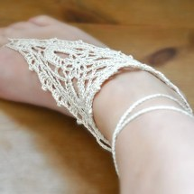 Pattern Pdf File Barefoot Crochet Sandals Soleless