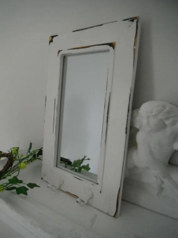 contemporary wall mirror white wall mirror beach by ShabbyRoad