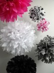 Hot Pink and Zebra Party Decorations