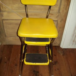Chair Step Stool Folding Beach Chairs Walmart Vintage Cosco