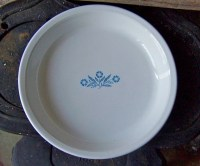 Corningware Cornflower Blue Pie Plate