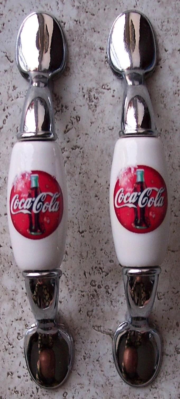 Items similar to Coca Cola Coke Kitchen Cabinet Handle