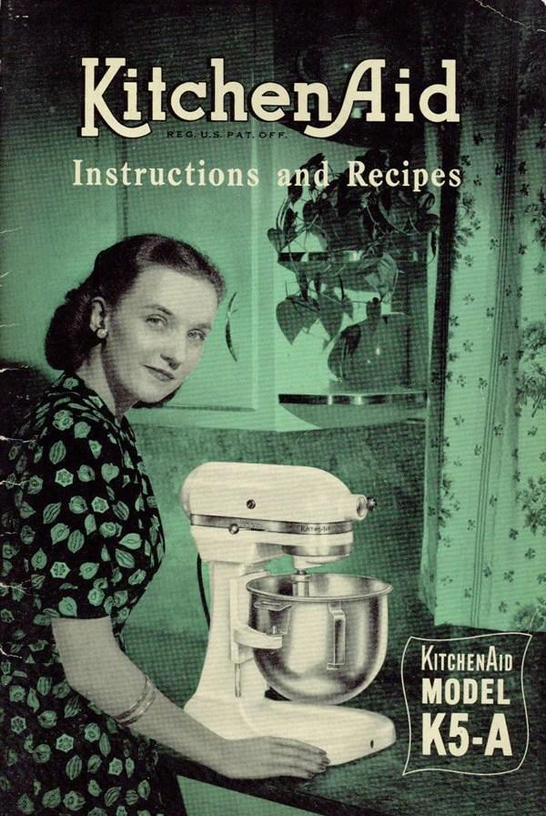 1940s KitchenAid Electric Mixer K5A Model Manual PreWar