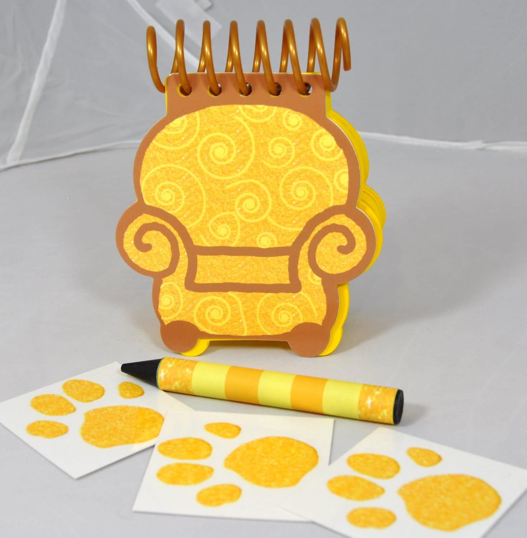 Blue S Clues Golden Handy Dandy Joe S Notebook