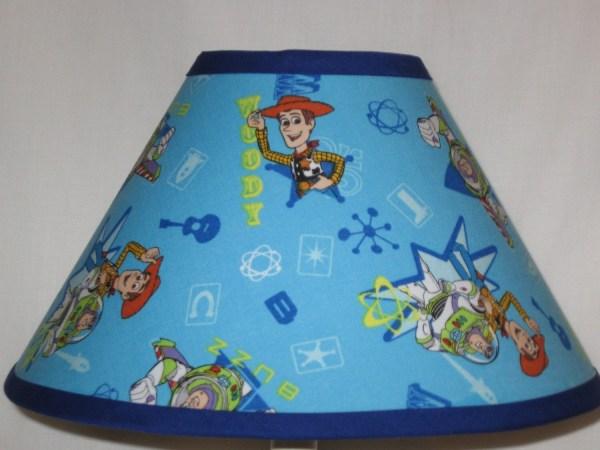 Disney Toy Story Fabric Childrens Lamp Shade