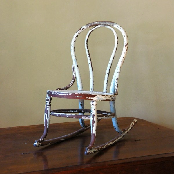 Reserve Antique Rocking Chair Bentwood