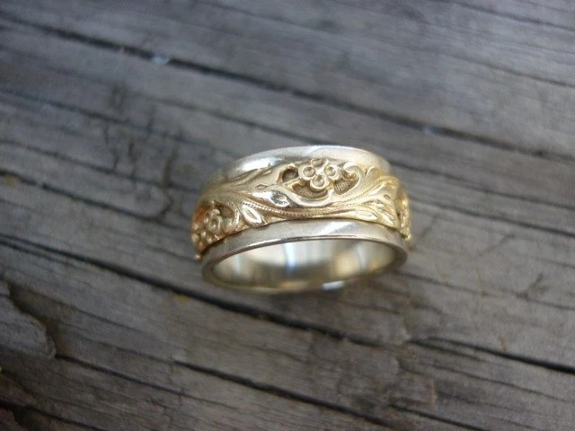 ArtCarved 14K Vintage Wedding Band By FlyinPigMercantile