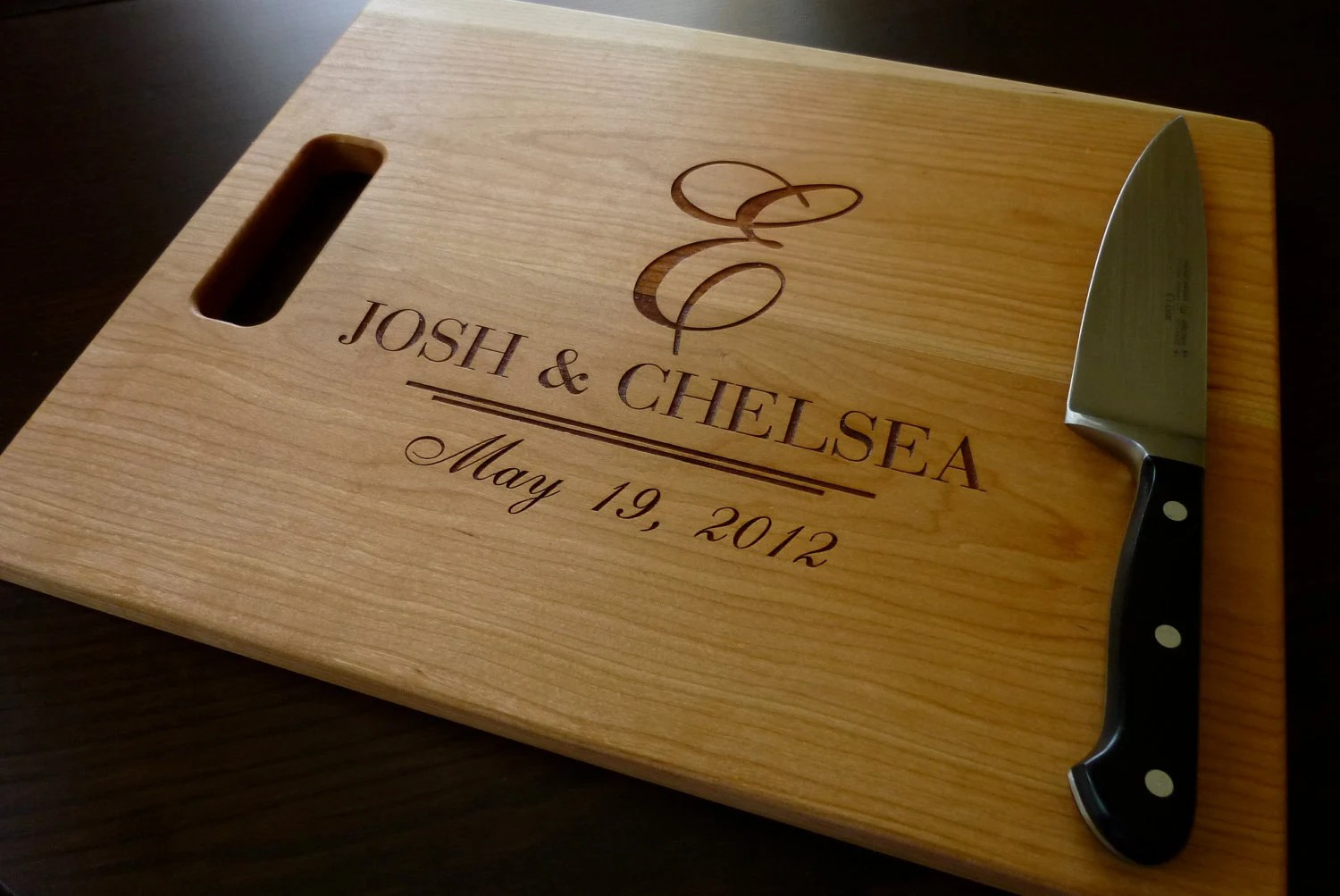 Personalized Cutting Board Custom Engraved By