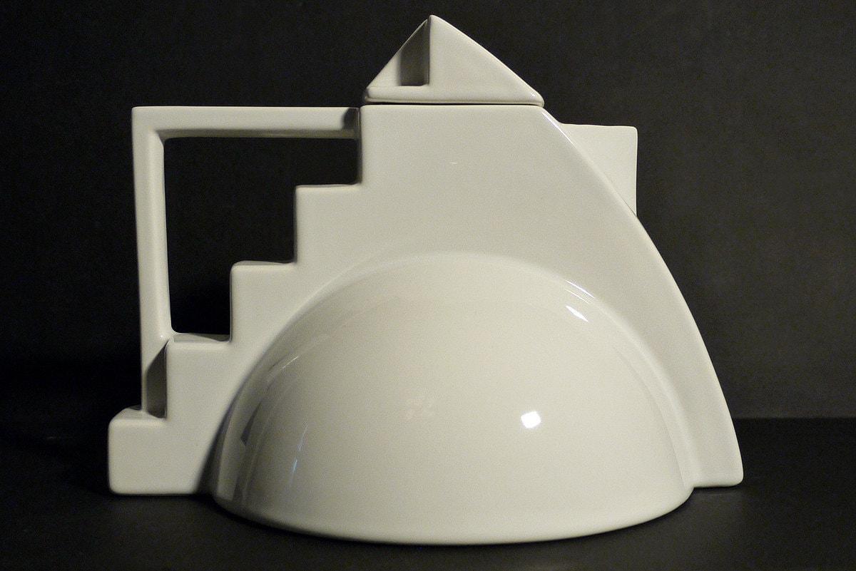 Memphis  Art Deco Teapot by Salins Studio France by