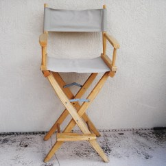 Folding Wood Chairs With Padded Seat Oxo High Chair Recall Solid Directors By Npebaysale On Etsy