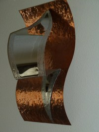 Abstract Copper Wall Art Sculpture by Dennis Boyd DB Designs
