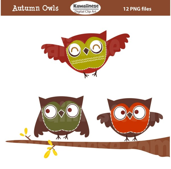items similar owl clip art autumn