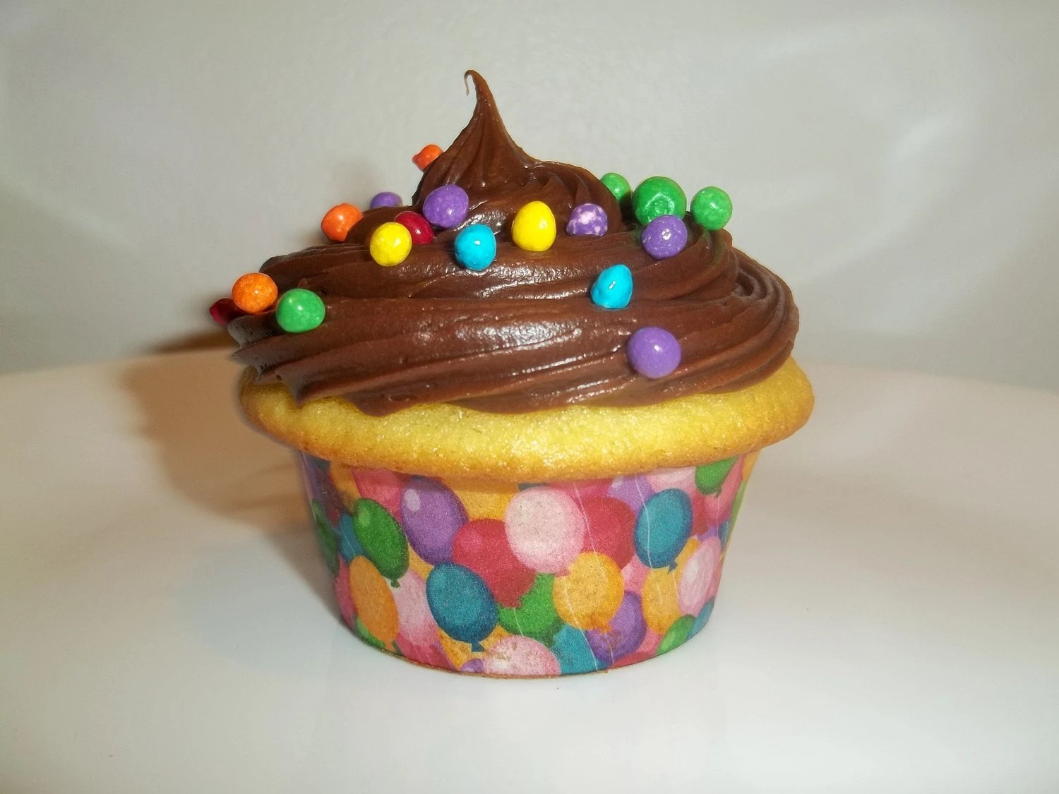 Balloons Edible Cupcake Wrappers By WeeCakes On Etsy