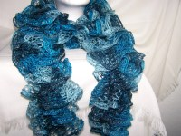 Free Crochet Scarf Patterns With Sashay Yarn ~ Dancox for