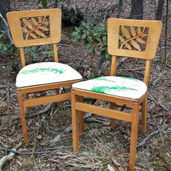 Green Banquet Chair Covers Navy Accent Chairs Pair Of Vintage Stakmore Carved Folding