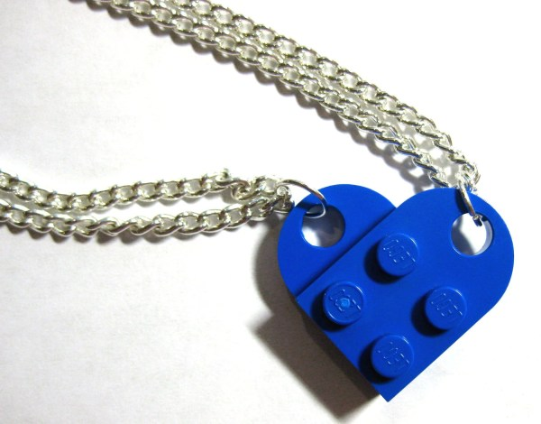 Bff Heart Necklace Set Of Lego Bricks Friends