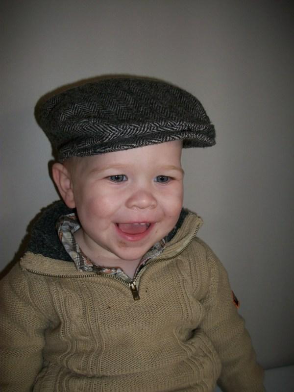 Scally Cap Boy Baby