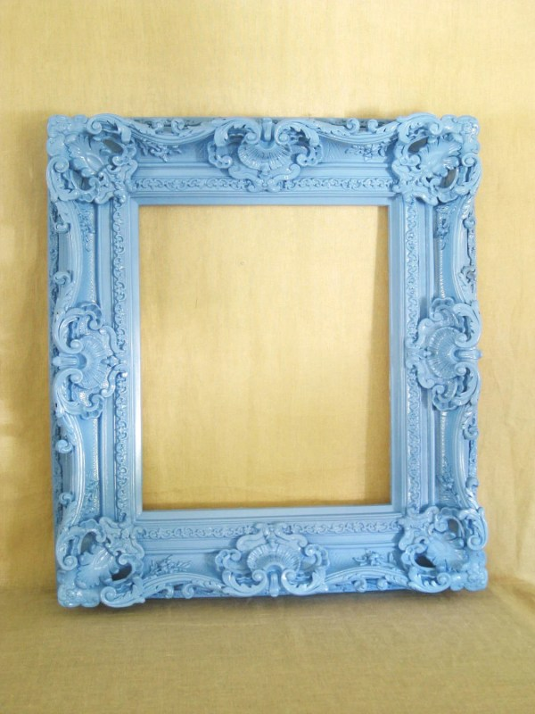 Large Ornate Frame Frames Mirrors