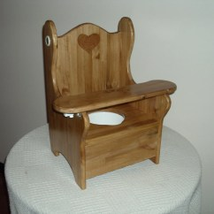 Wooden Potty Training Chair Elderly Shower With Tray By Wonderwoodshop On Etsy