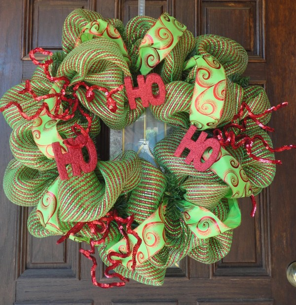 Pinterest Deco Mesh Christmas Wreaths