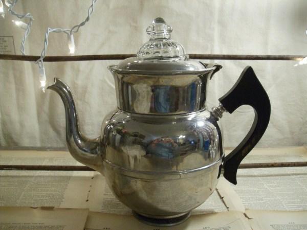 Antique 1912 Royal Rochester Percolator Coffee Pot