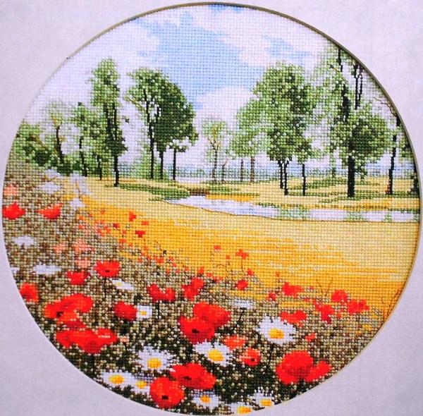 Exclusive John Clayton Summer Meadow Heritage Stitchcraft