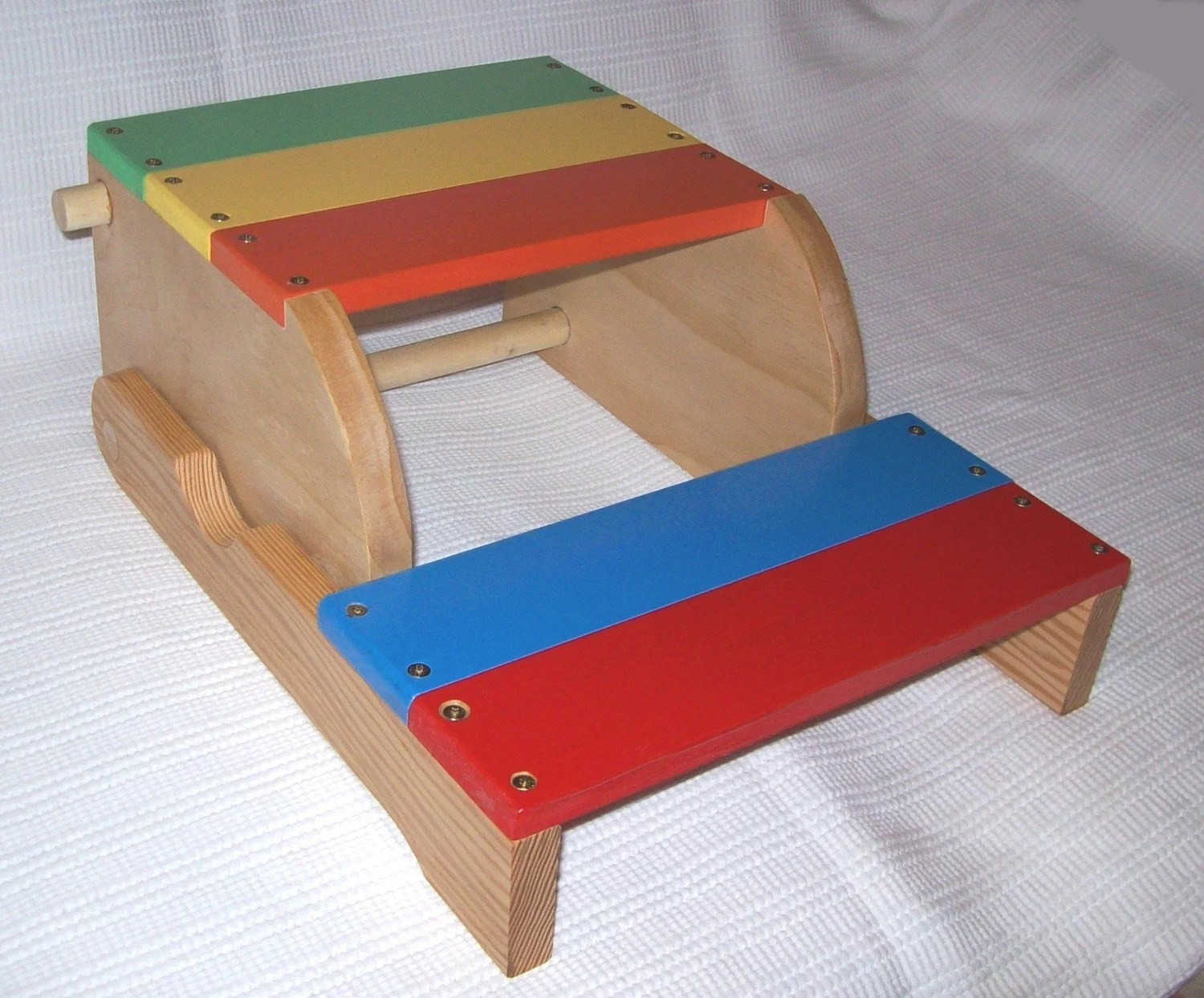 Wooden Step Stool Chair Child 39s Step Stool And Chair