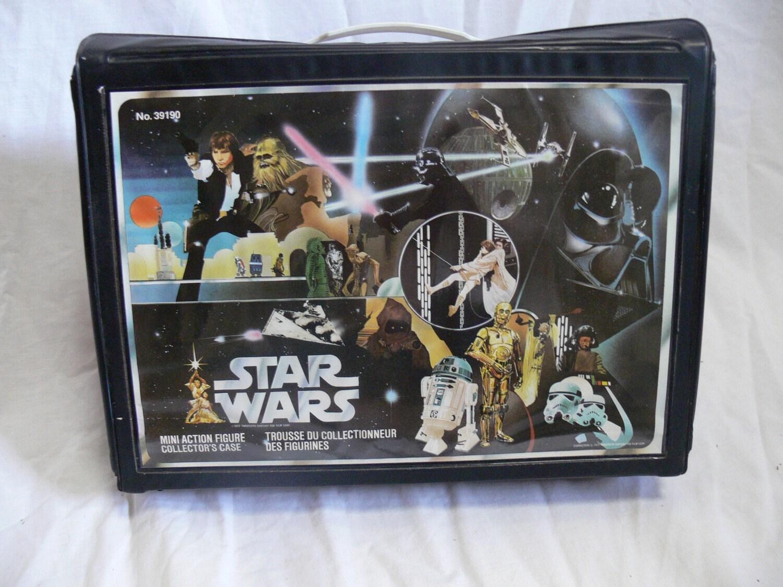 Star Wars Mini Action Figure Collectors Case