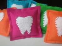 Felt Tooth Fairy Pillows by LittleBirdieandMe on Etsy