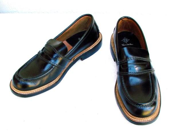 Vintage Thom Mcan Black Penny Loafers Men Shoes 8.5