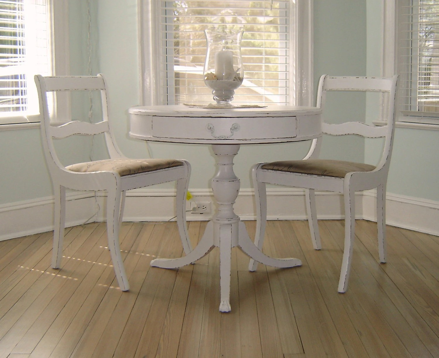 2 chair bistro set swivel mechanism suppliers french shabby chic white chairs and table