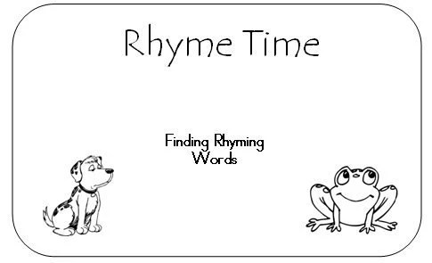 Rhyme Time with a note about its past and future