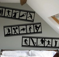 Items similar to Sports Themed Filmstrip - Vinyl Wall Art ...