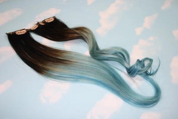 Blonde Dip Dye Light Brown Hair