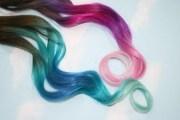 pastel tie dye tip extensions dark