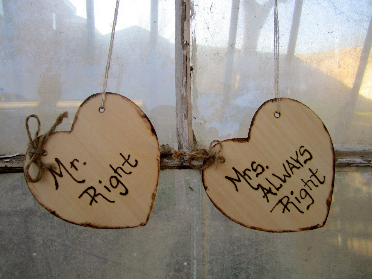 mr and mrs chair signs ikea wooden high shabby chic elegant rustic woodland