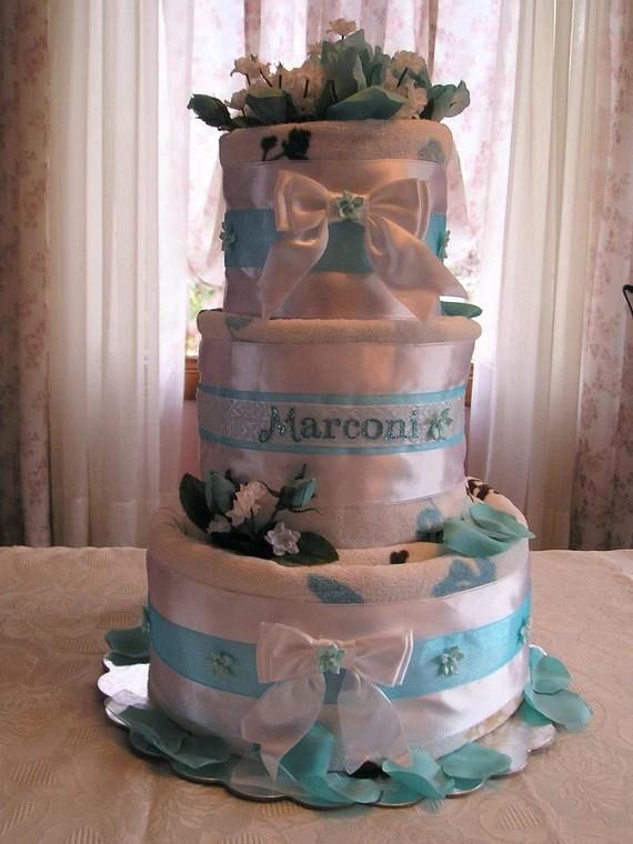 Custom Bridal Towel Cake By SavingByDesign On Etsy