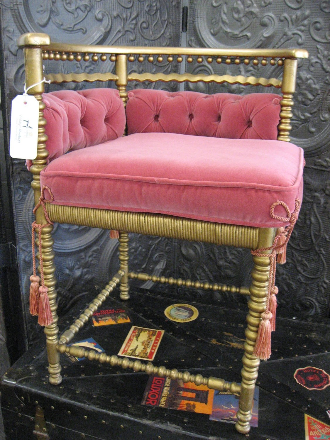 gold velvet chair wedding cover hire redditch antique pink and corner