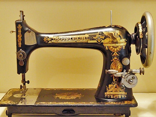 Antique Singer Sewing Machine Numbers
