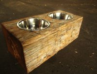 30 Perfect Woodworking Plans For Dog Dish Holder | smakawy.com