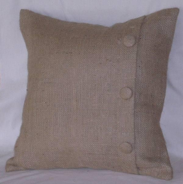 Burlap Pillow Shams