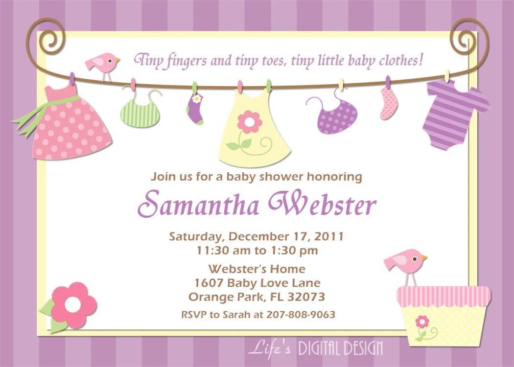 Baby Shower Invitations Costco